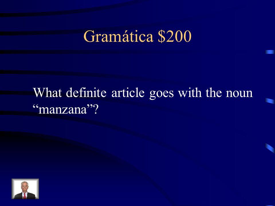 Gramática $100 Los