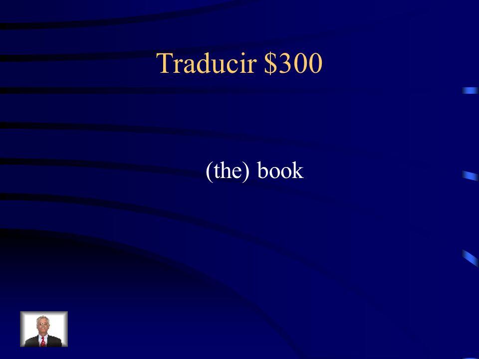Traducir $300 ¿Cómo se dice el libro en inglés?