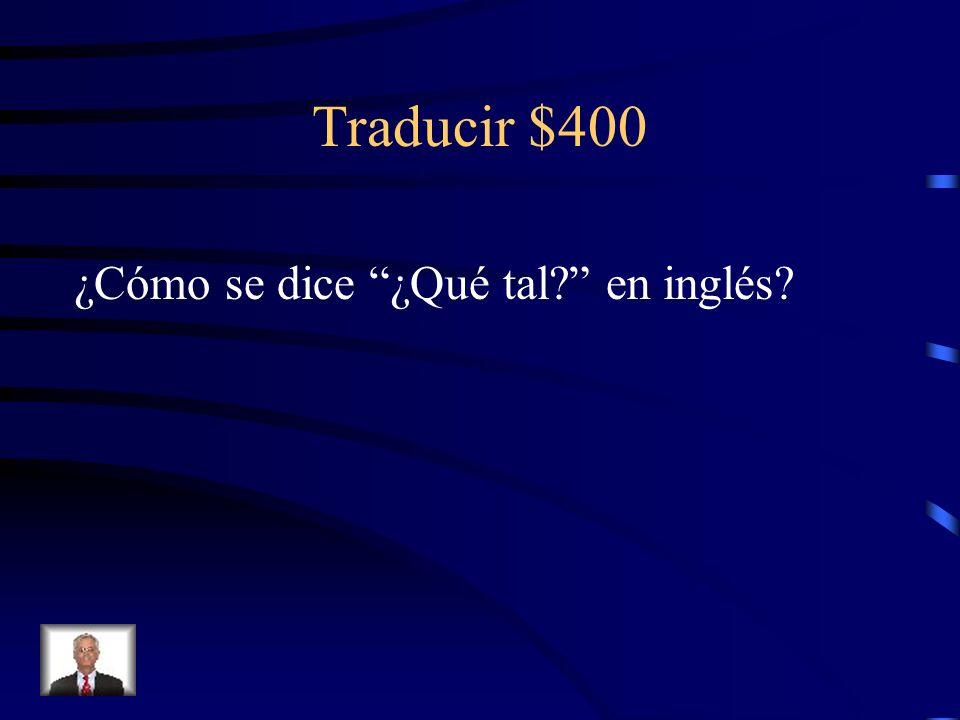 Traducir $300 (the) book