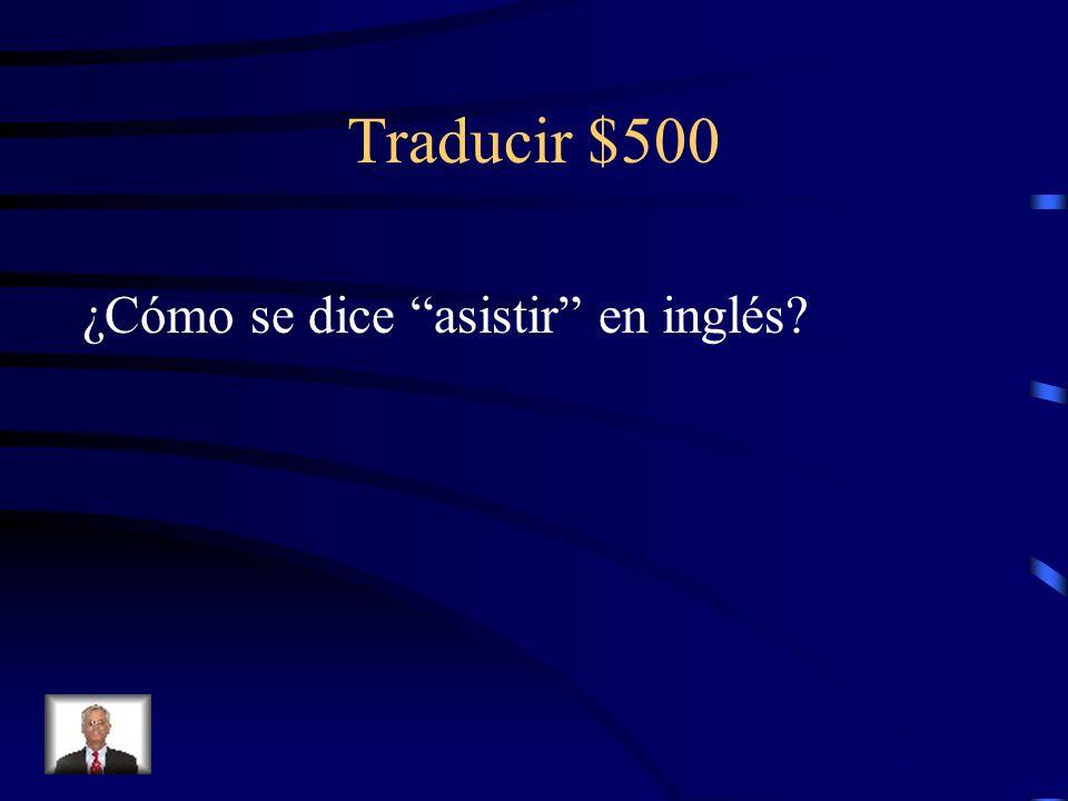 Traducir $400 Whats up?