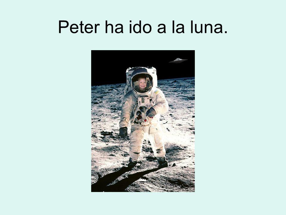 Peter ha ido a la luna.