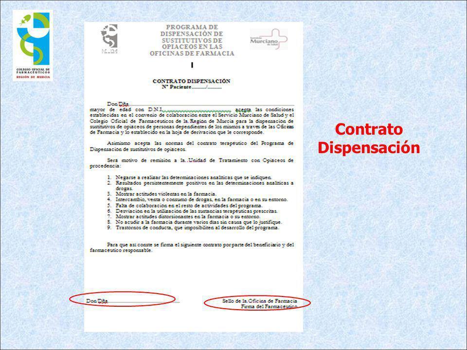 Contrato Dispensación