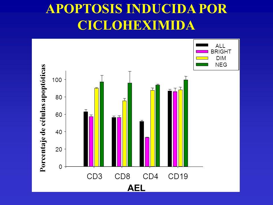 APOPTOSIS INDUCIDA POR CICLOHEXIMIDA
