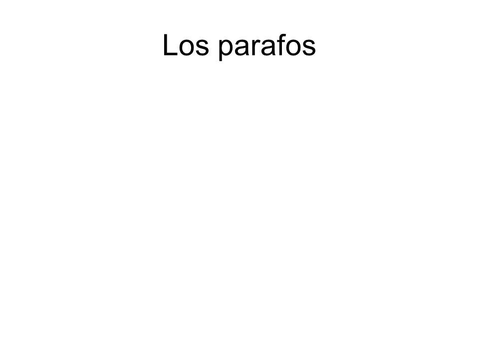 Los parafos