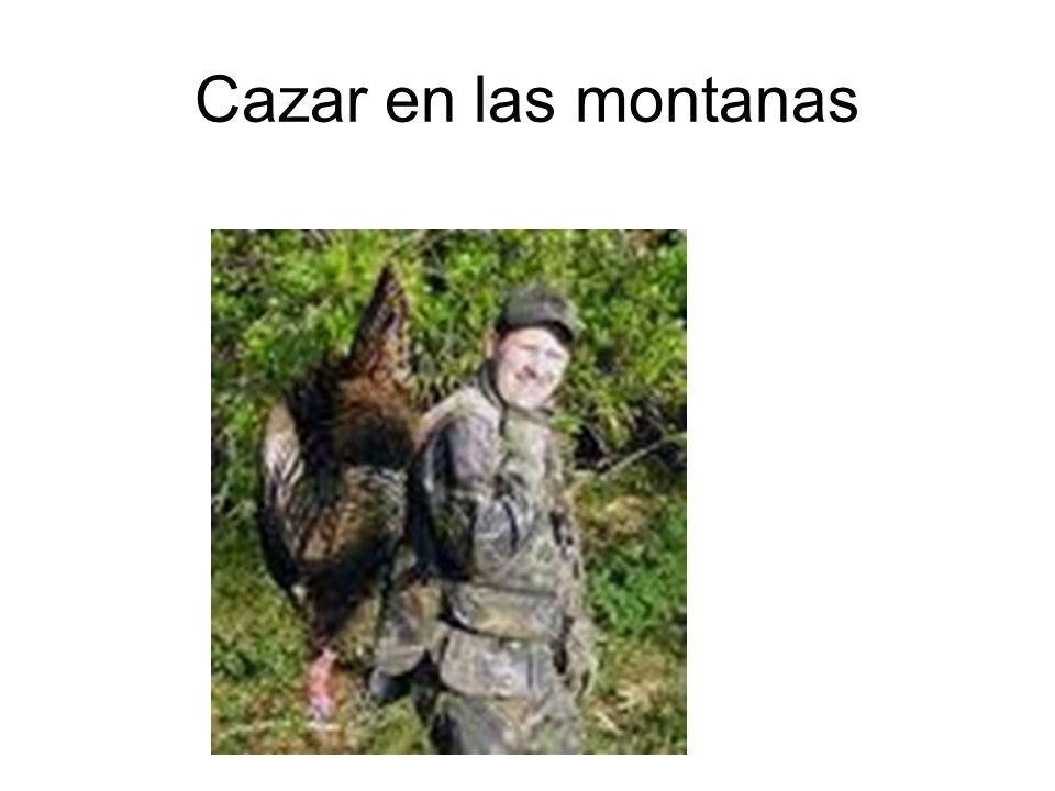 Cazar en las montanas