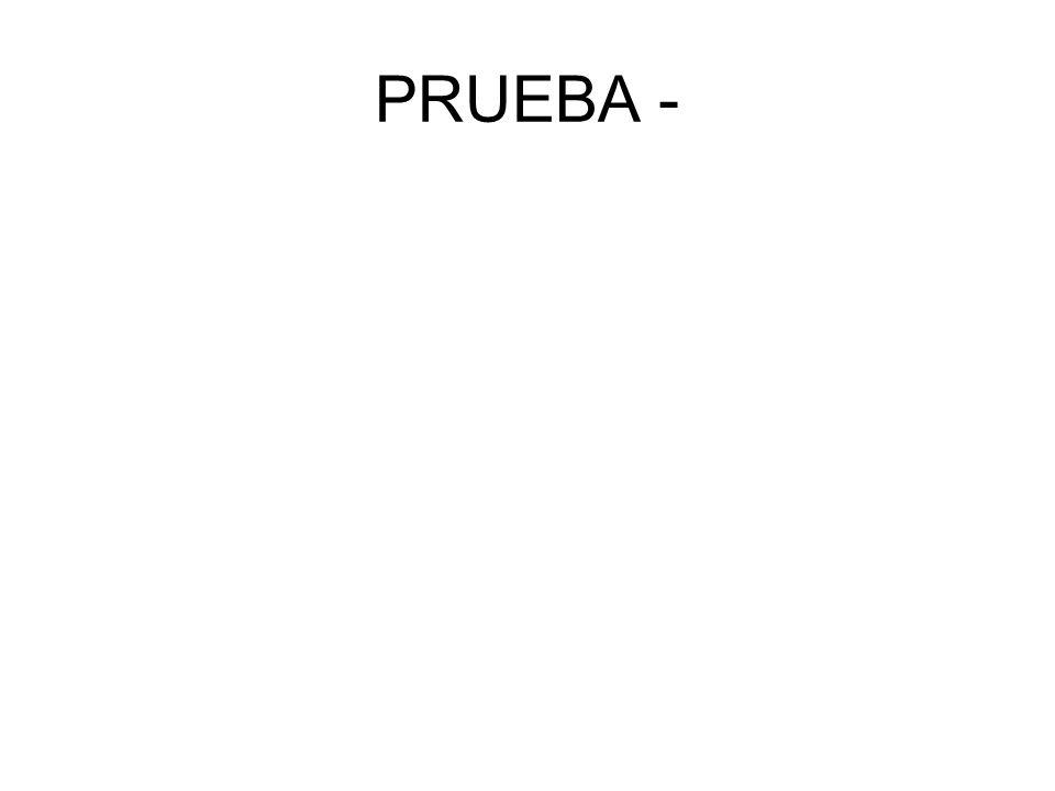 PRUEBA -
