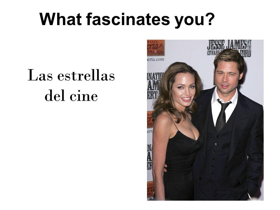 Movie Stars fascinate me Me fascinan las estrallas del cine