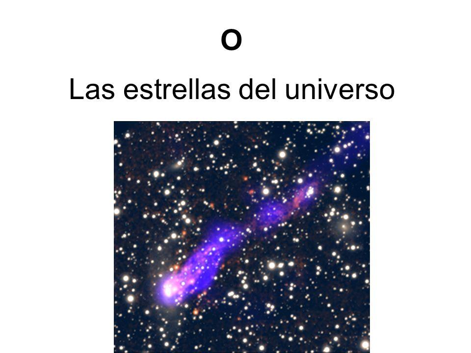 Las estrellas del universo O