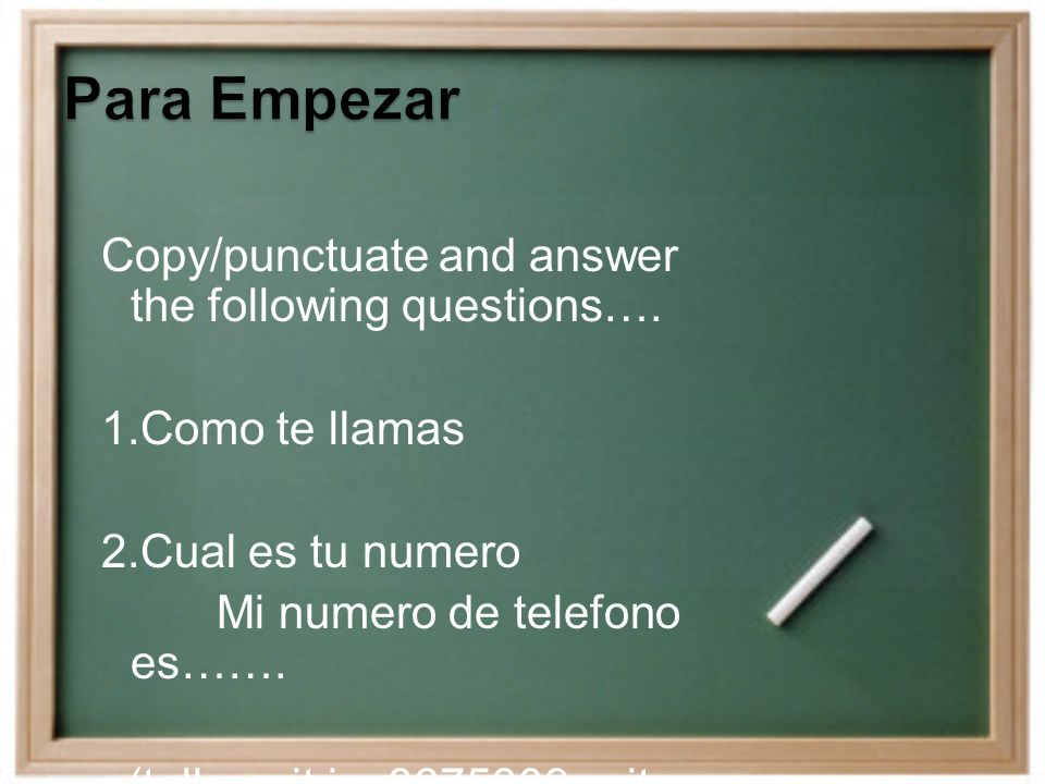 Copy/punctuate and answer the following questions….
