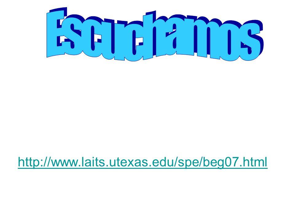 http://www.laits.utexas.edu/spe/beg07.html