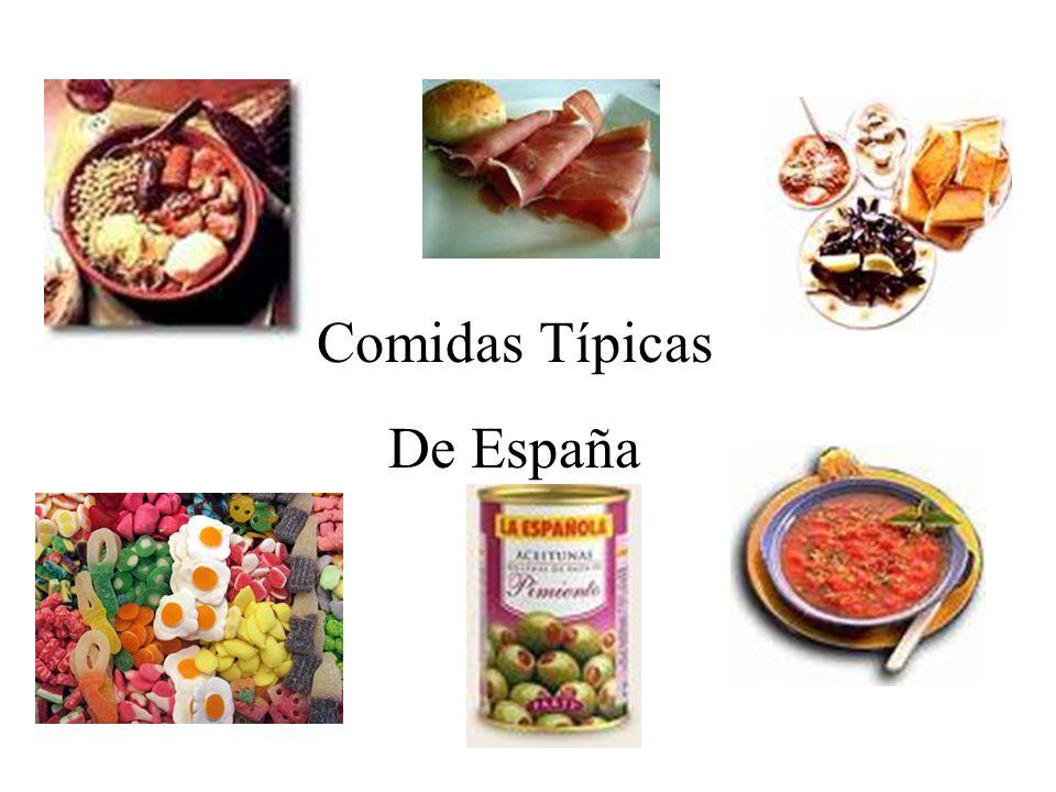 Comidas Típicas De España