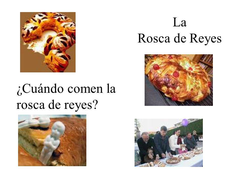 La Rosca de Reyes ¿Cuándo comen la rosca de reyes?