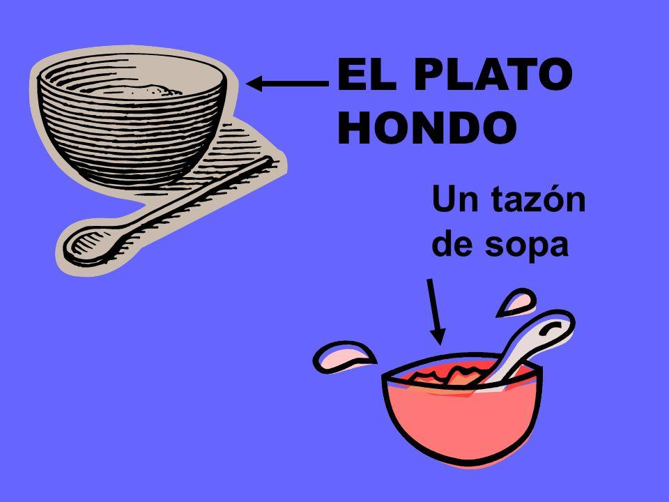 EL PLATO los platos