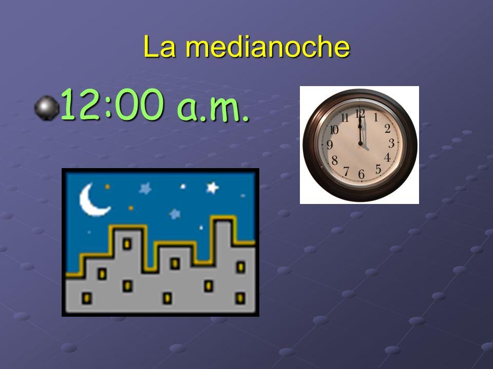 Son las once menos tres 10:57