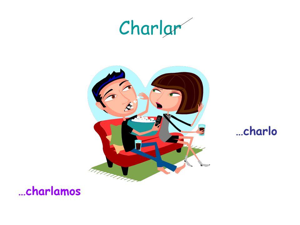 Charlar …charlamos …charlo