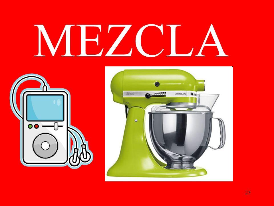 25 MEZCLA