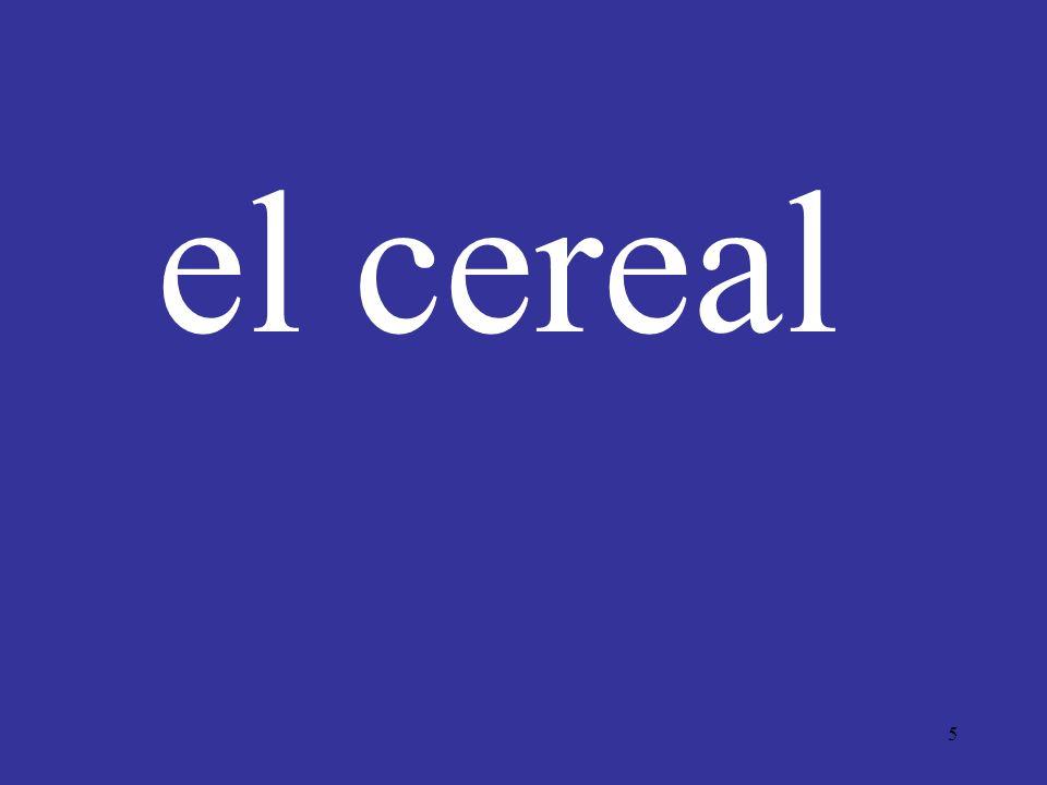 5 el cereal