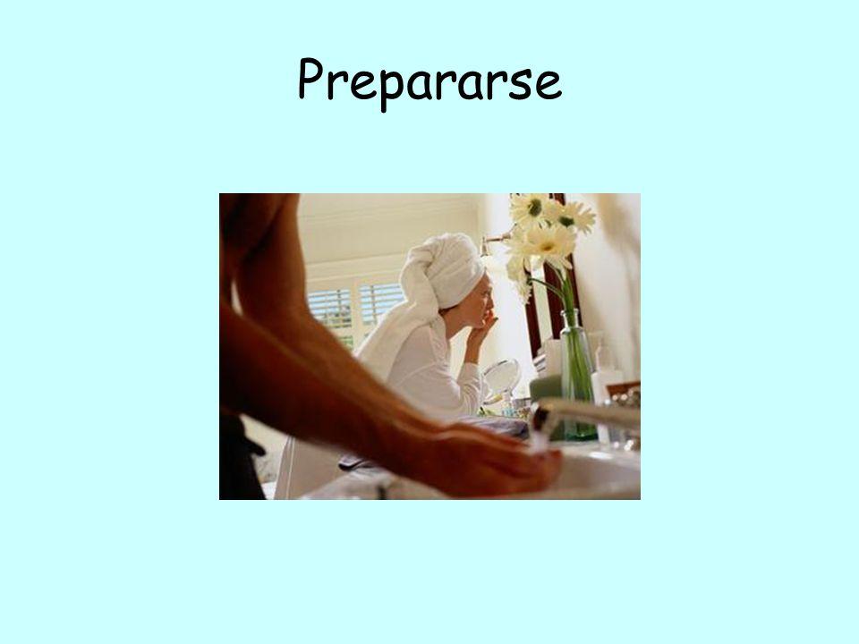 Prepararse