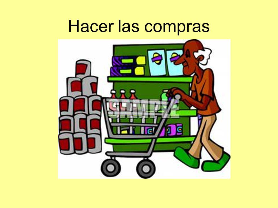 Hacer las compras