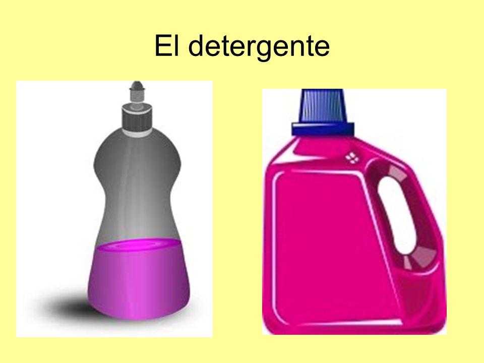 El detergente