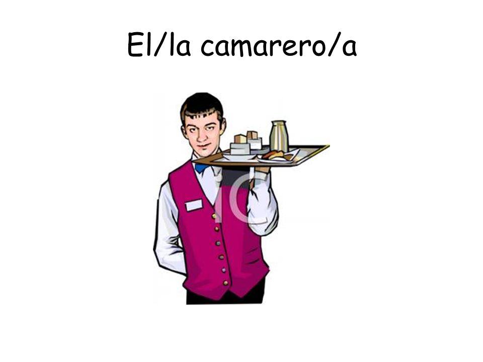 El/la camarero/a