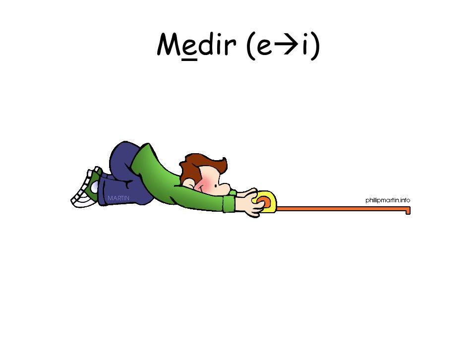 Medir (e i)