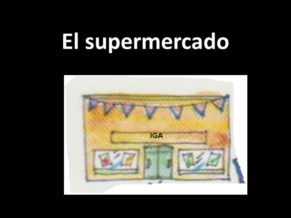 El supermercado IGA