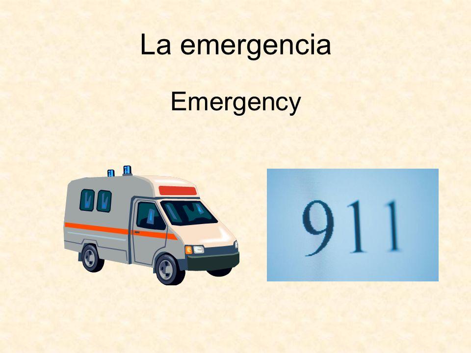 La emergencia Emergency