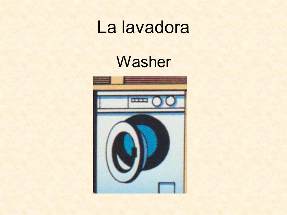 La lavadora Washer