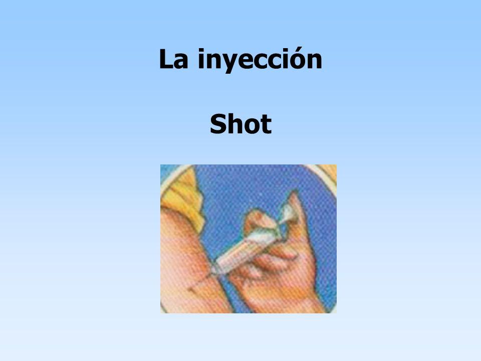 La inyección Shot