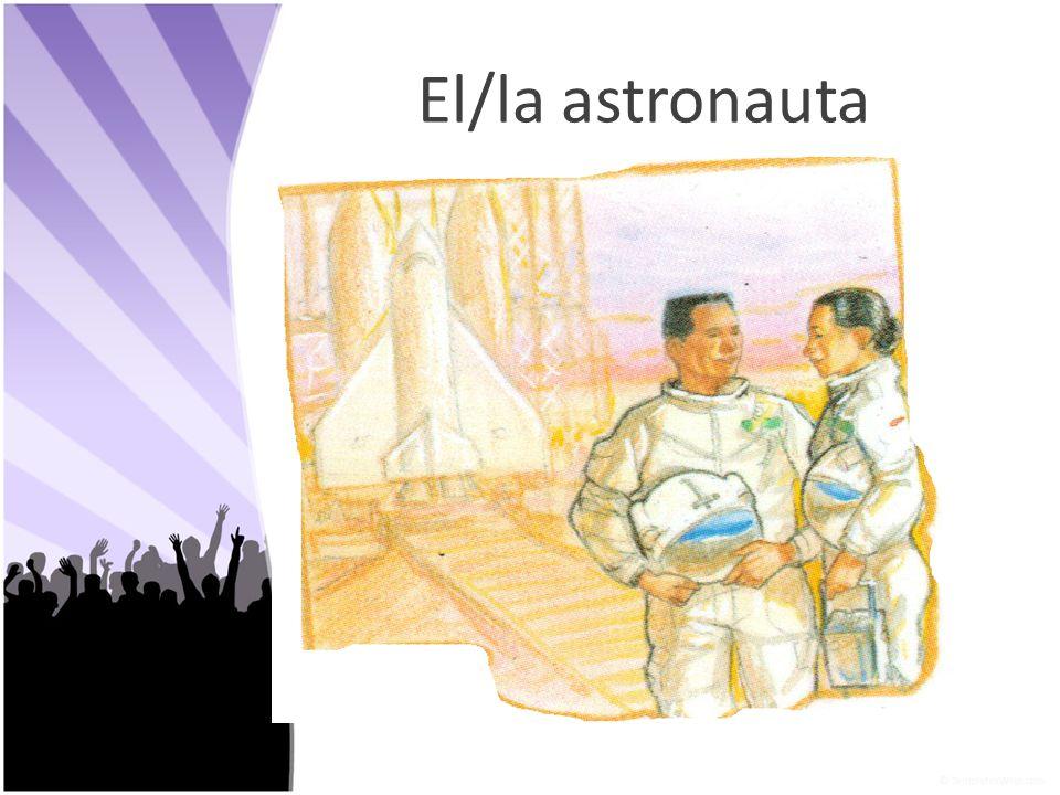 El/la astronauta