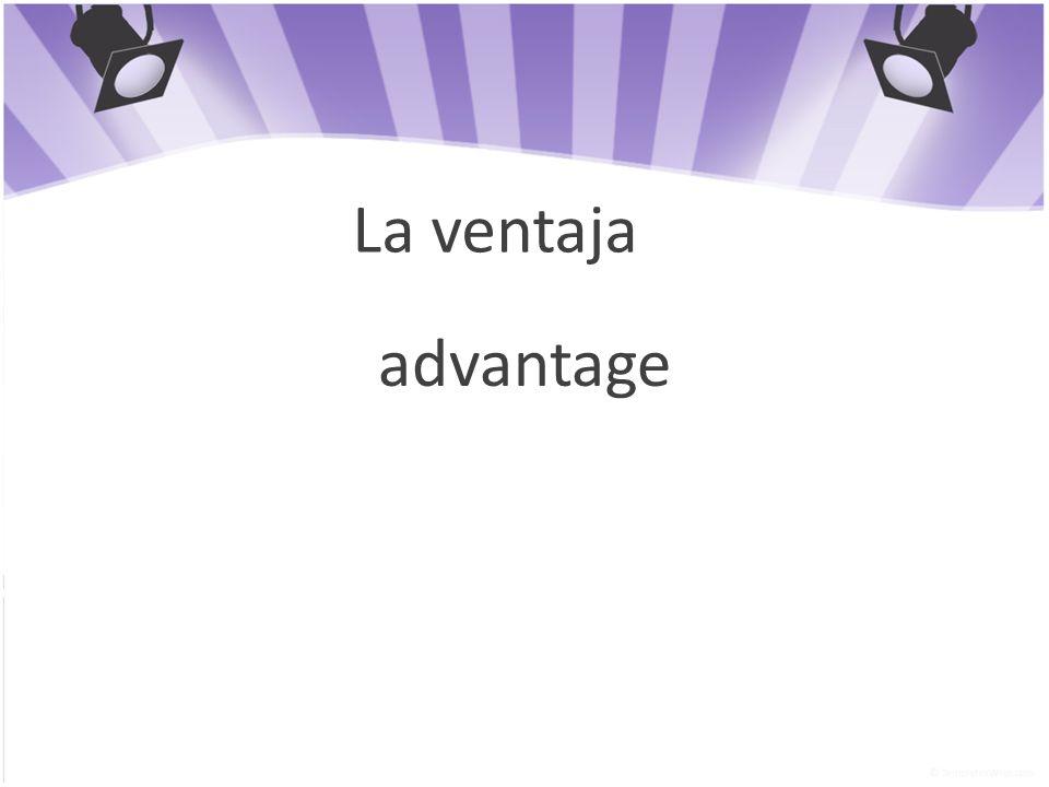 La ventaja advantage