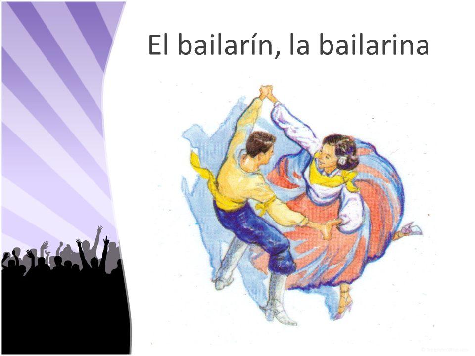 El bailarín, la bailarina