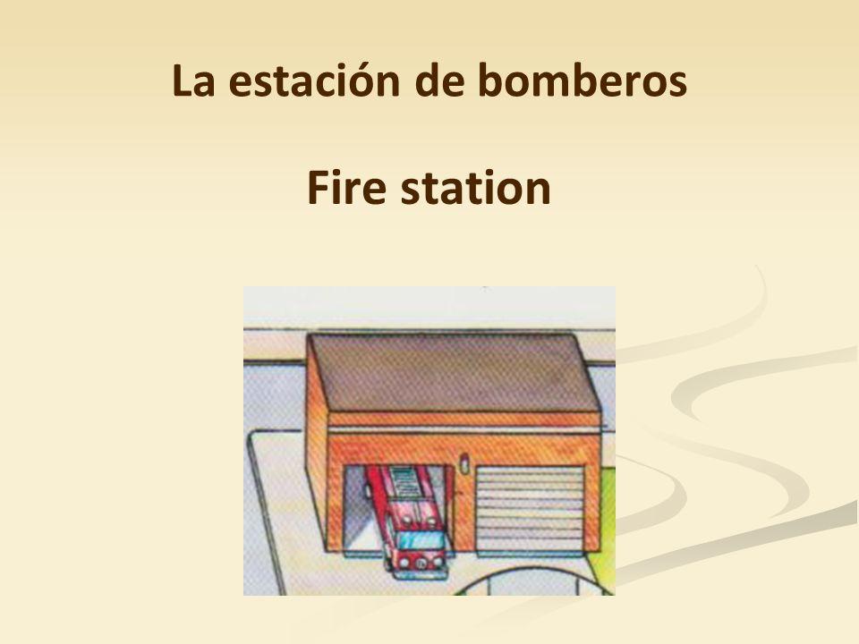 La estación de bomberos Fire station