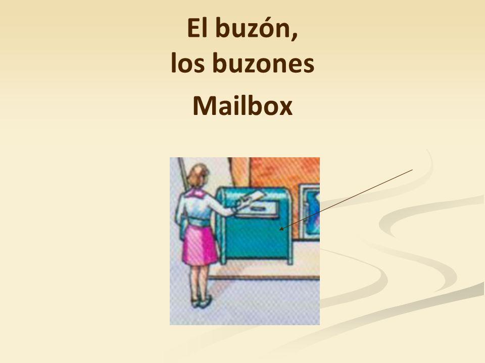 El buzón, los buzones Mailbox