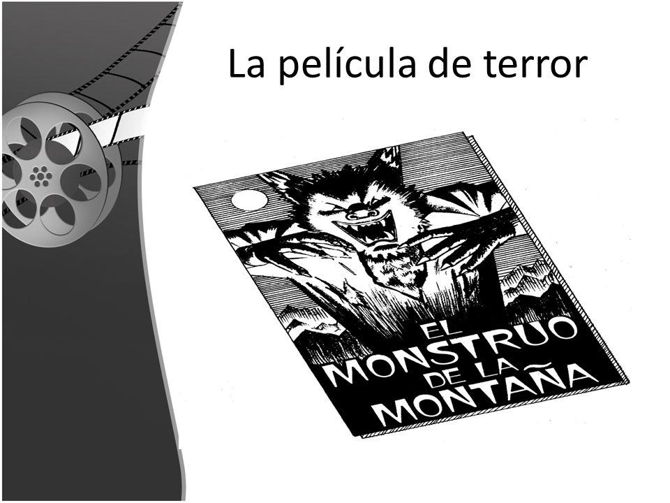 La película de terror