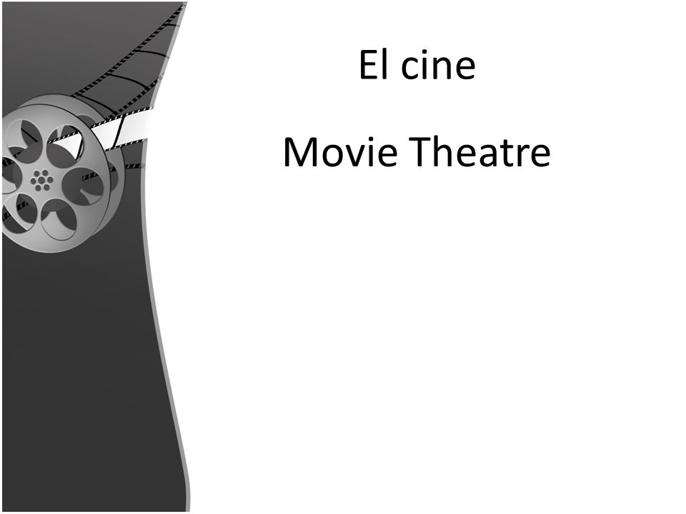 El cine Movie Theatre