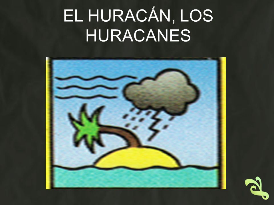 EL HURACÁN, LOS HURACANES