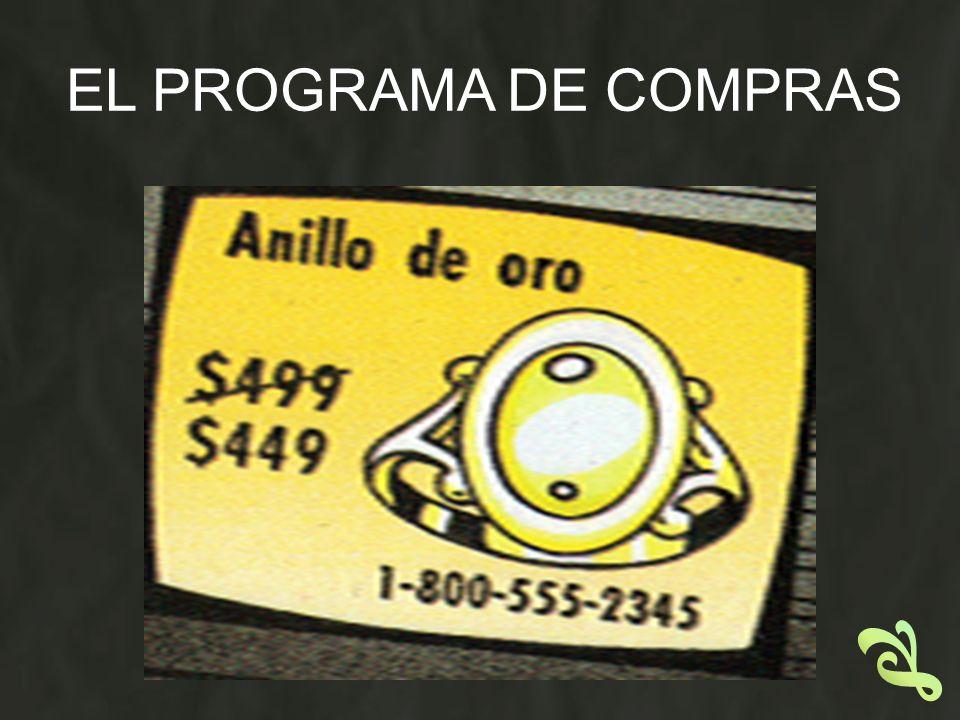 EL PROGRAMA DE COMPRAS