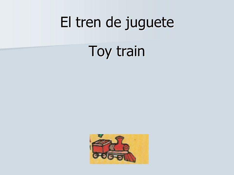 El tren de juguete Toy train