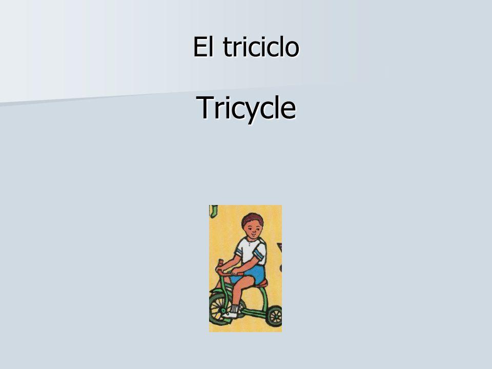 El triciclo Tricycle