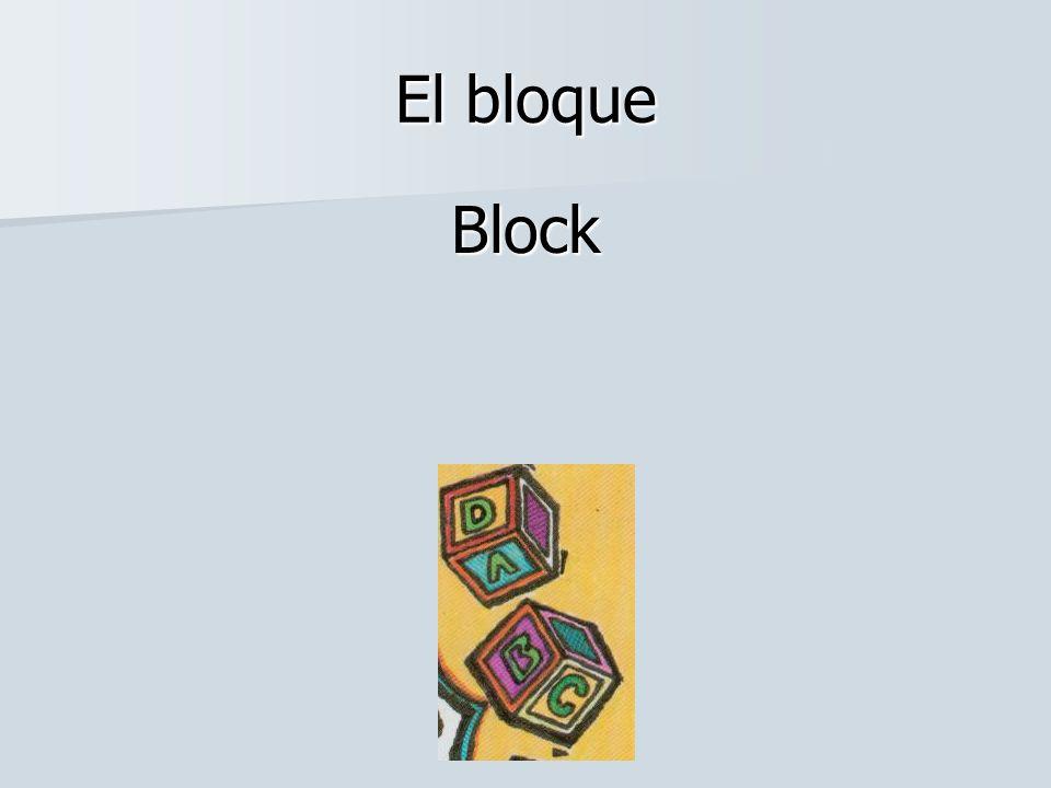 El bloque Block