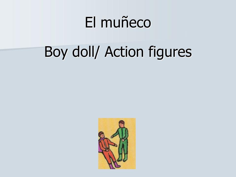 El muñeco Boy doll/ Action figures