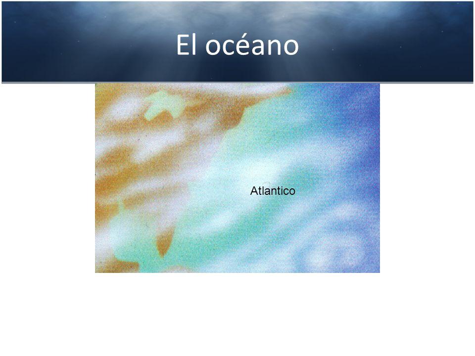 El océano Atlantico
