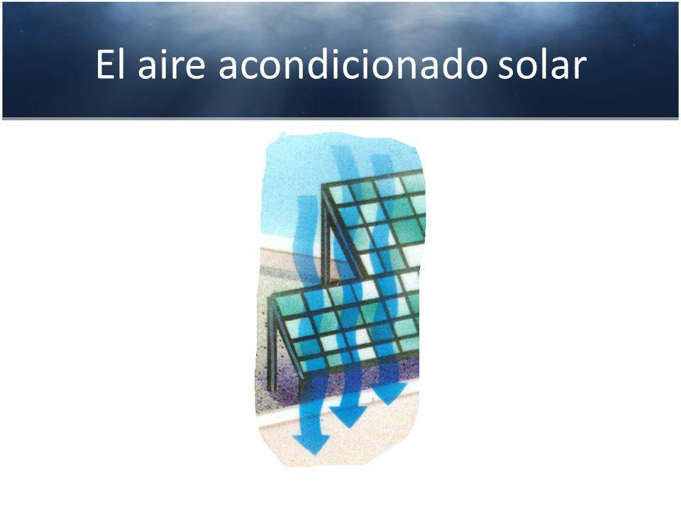 El aire acondicionado solar