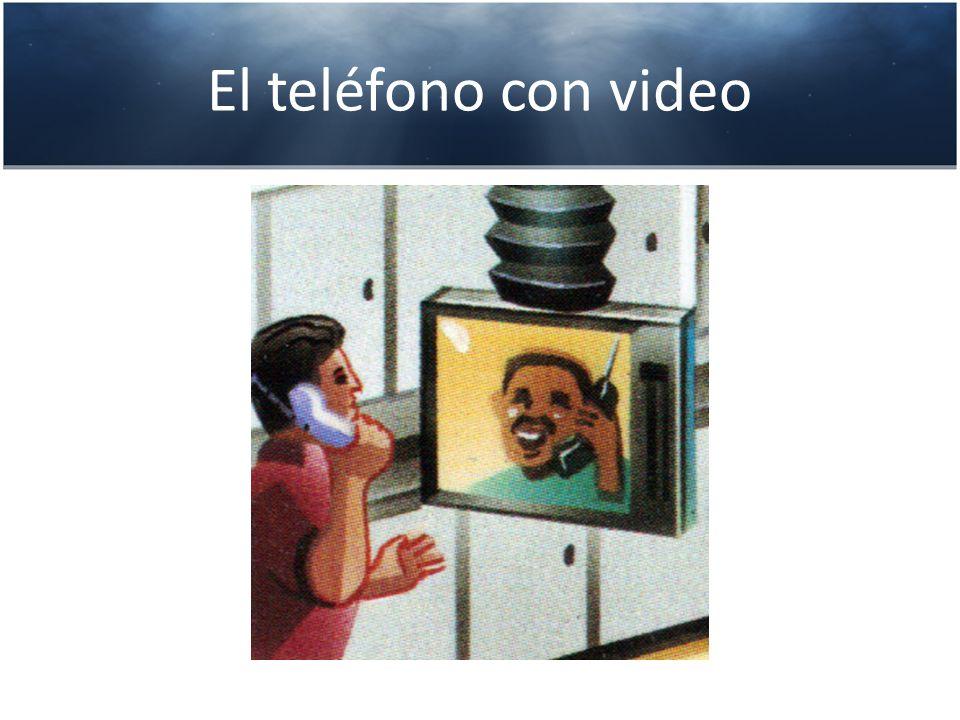 El teléfono con video