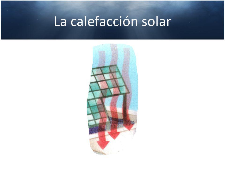 La calefacción solar