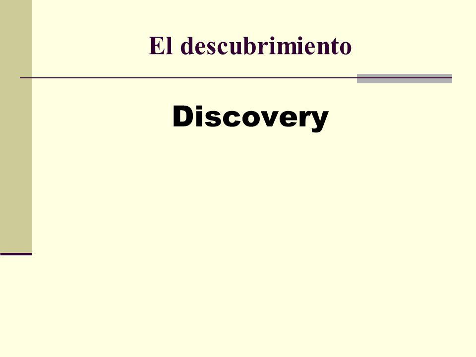 El descubrimiento Discovery