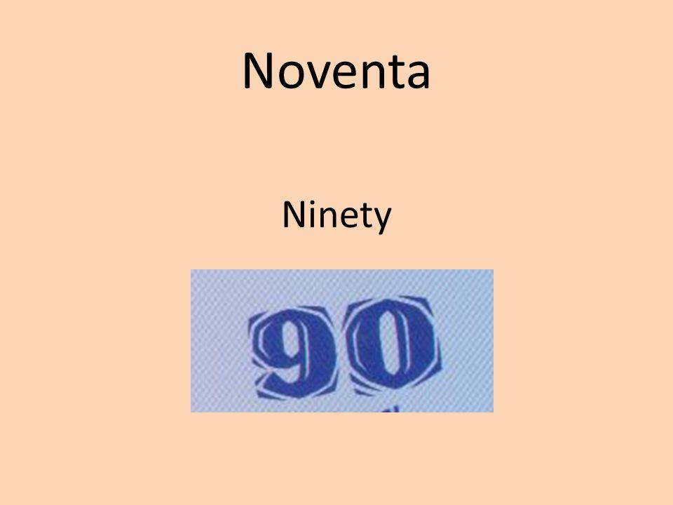 Noventa Ninety