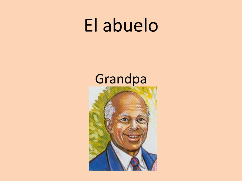 Los abuelos Grandparents